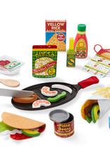 Melissa & Doug M&D Fill & Fold Taco & Tortilla Set