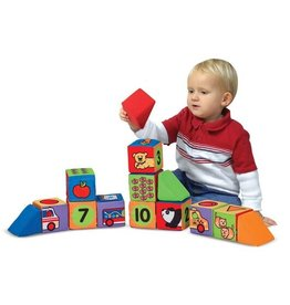 Melissa & Doug Match and Build Blocks