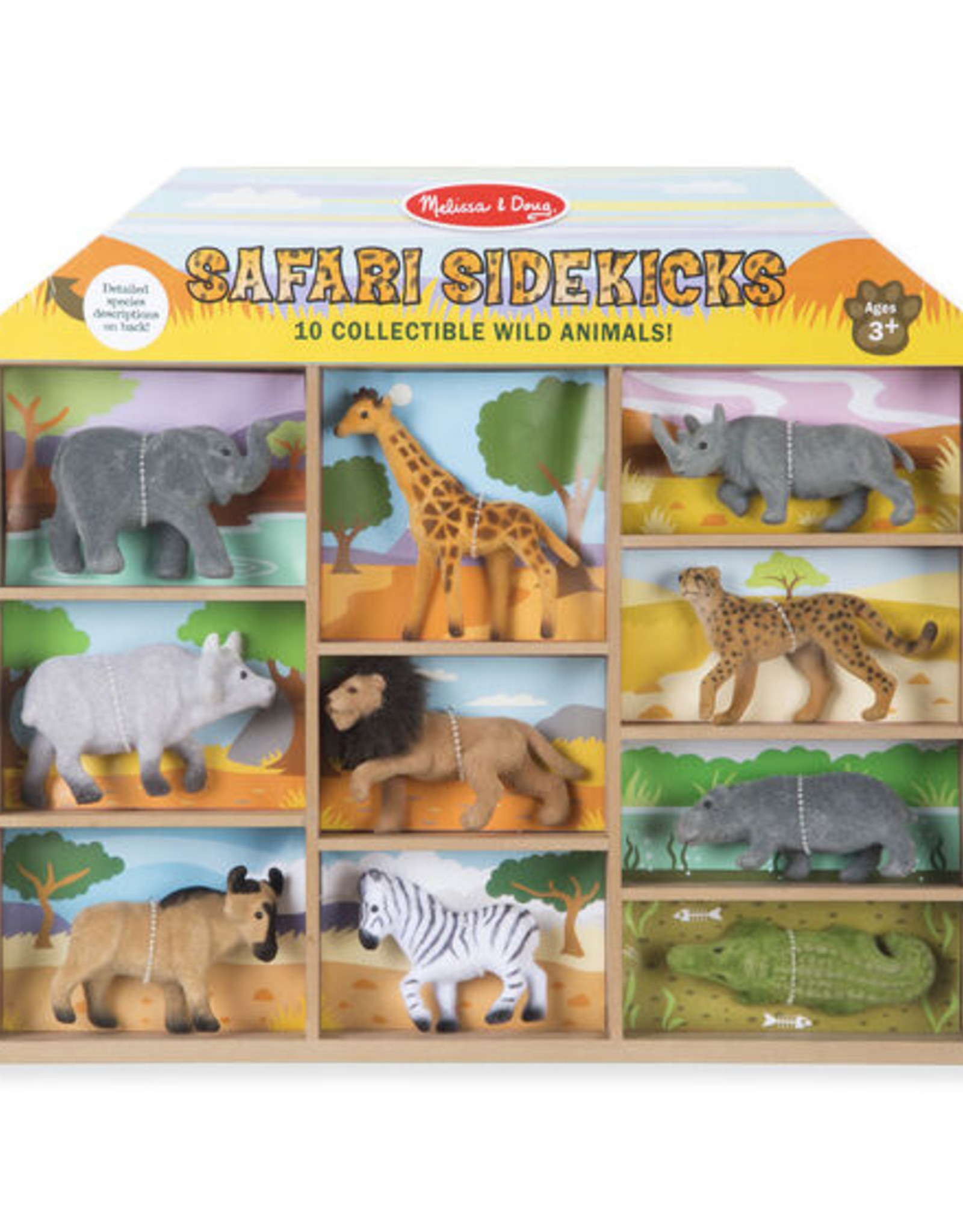 Melissa & Doug M&D Safari Sidekicks