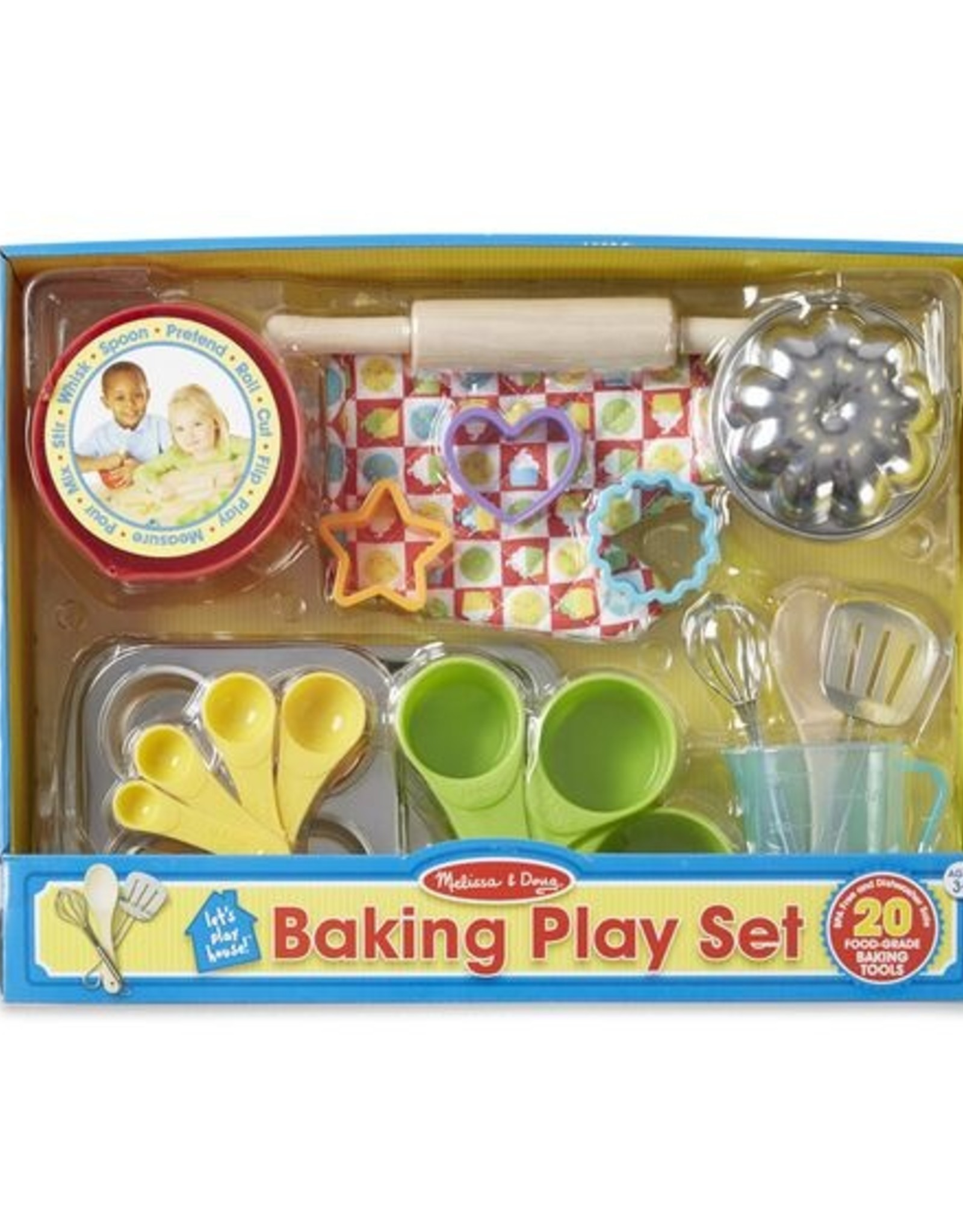 Melissa & Doug MD BAKING SET