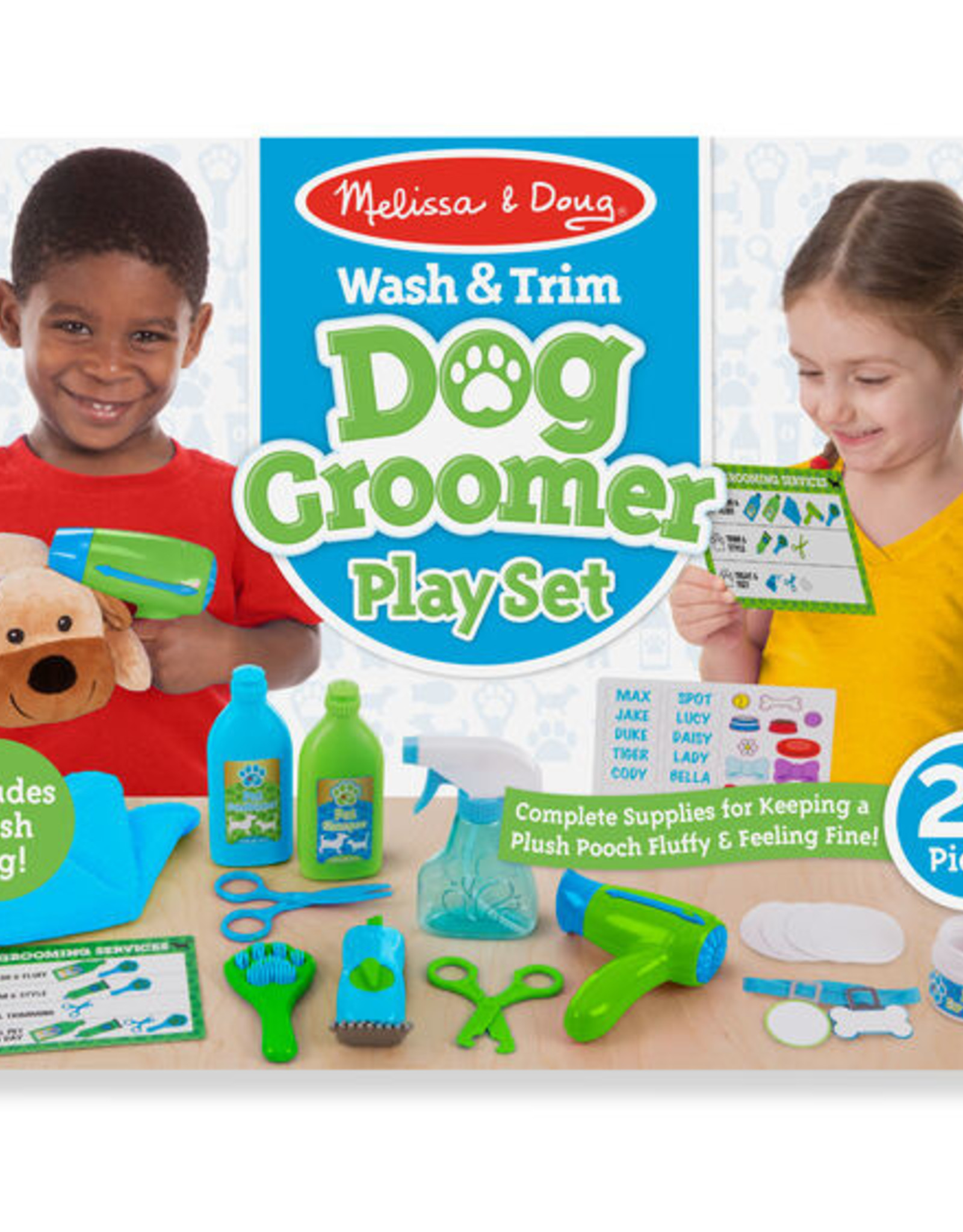 Melissa & Doug MD DOG GROOMER PLAYSET