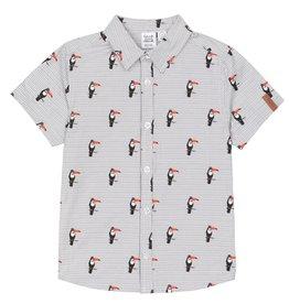 DeuxParDeux Toucan Button Up Shirt