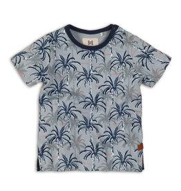 Koko Noko Blue Palm Tree T-Shirt