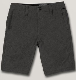 Volcom Frickin Surf N Turf Static Short - Charcoal Grey
