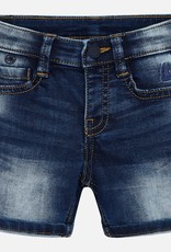 Mayoral Soft Denim Bermuda Shorts