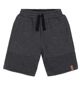 DeuxParDeux Dark Grey Quilted Bermuda Shorts