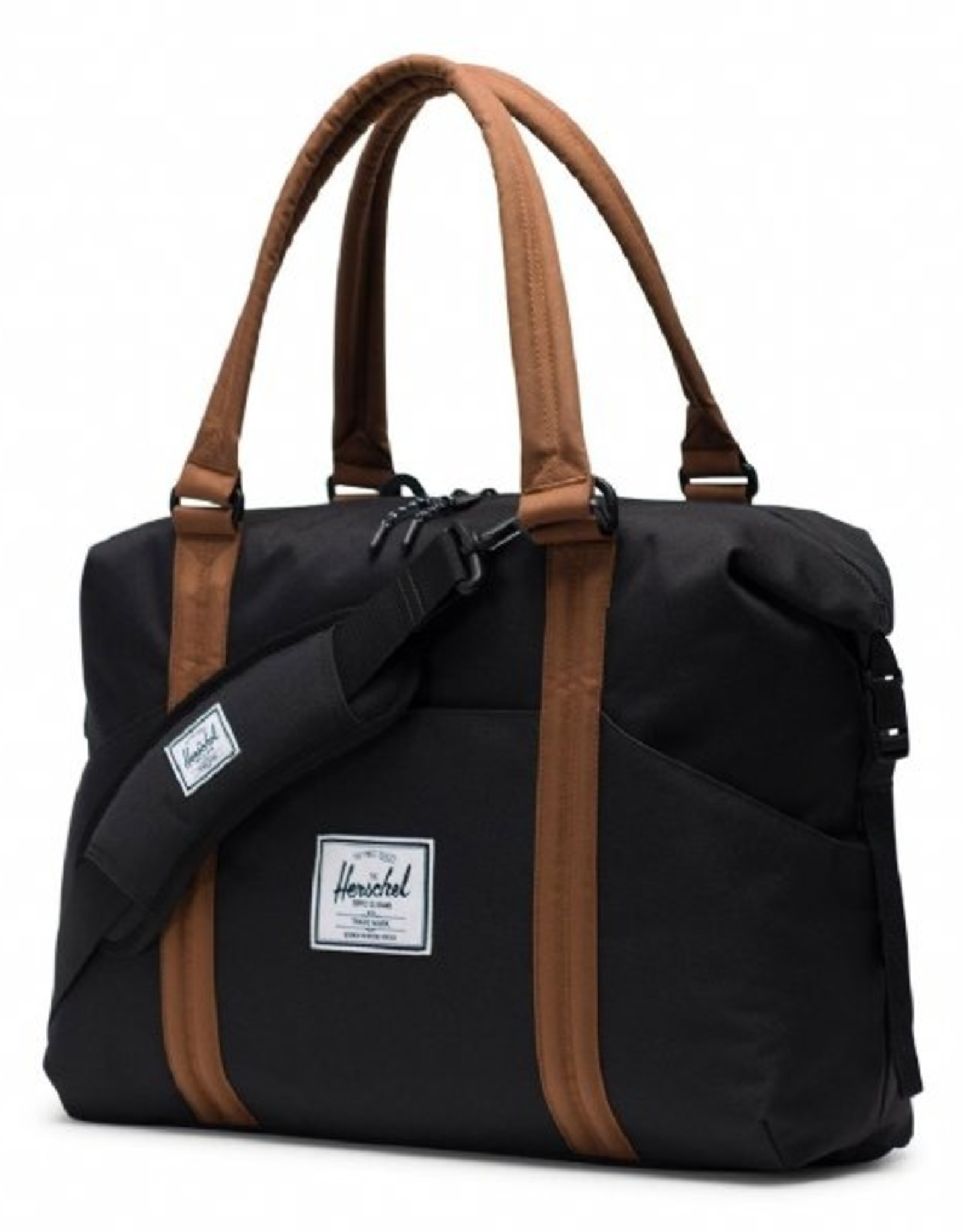 Herschel Supply Co. Strand Tote Diaper Bag -black brown
