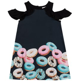 DeuxParDeux Printed Donut Dress - Black