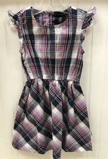 Silver Jeans Purple Plaid Dress