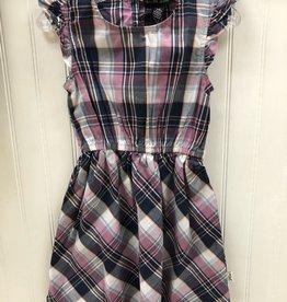 Silver Jeans Purple Plaid Dress