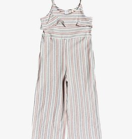 Roxy Our Eyes Strappy Striped Romper