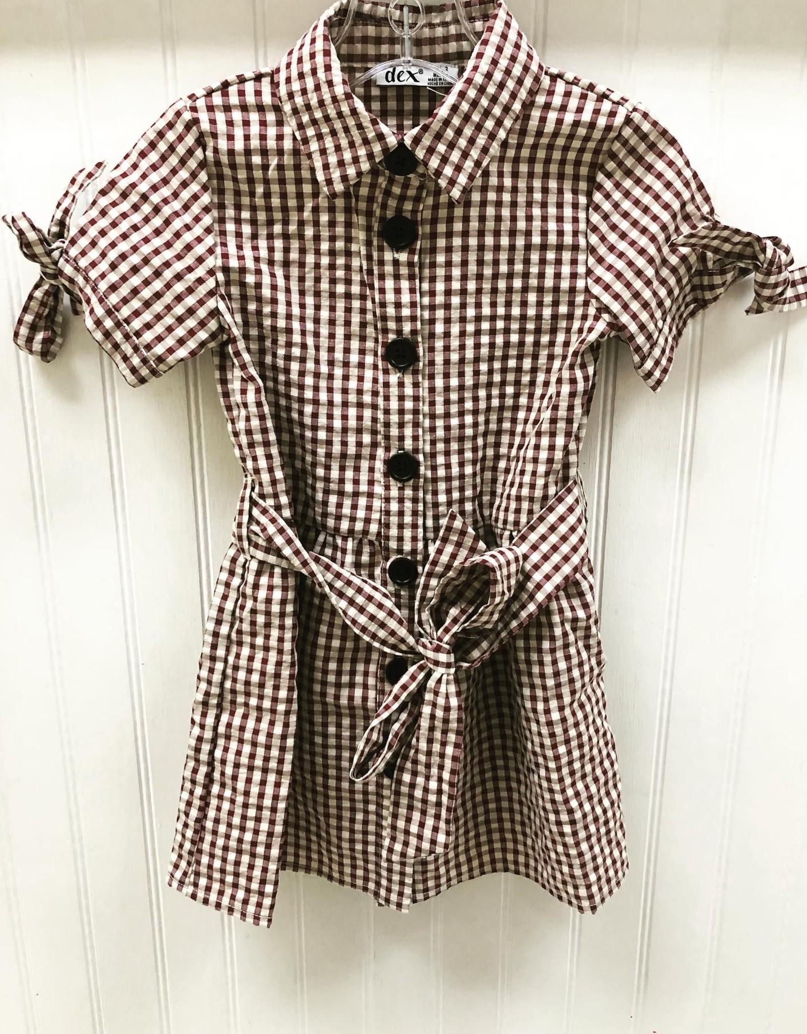 DEX Gingham dress