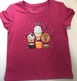 Under Armour pink ice cream medals shirt