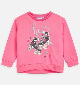 Mayoral Pink RollerSkate Pullover