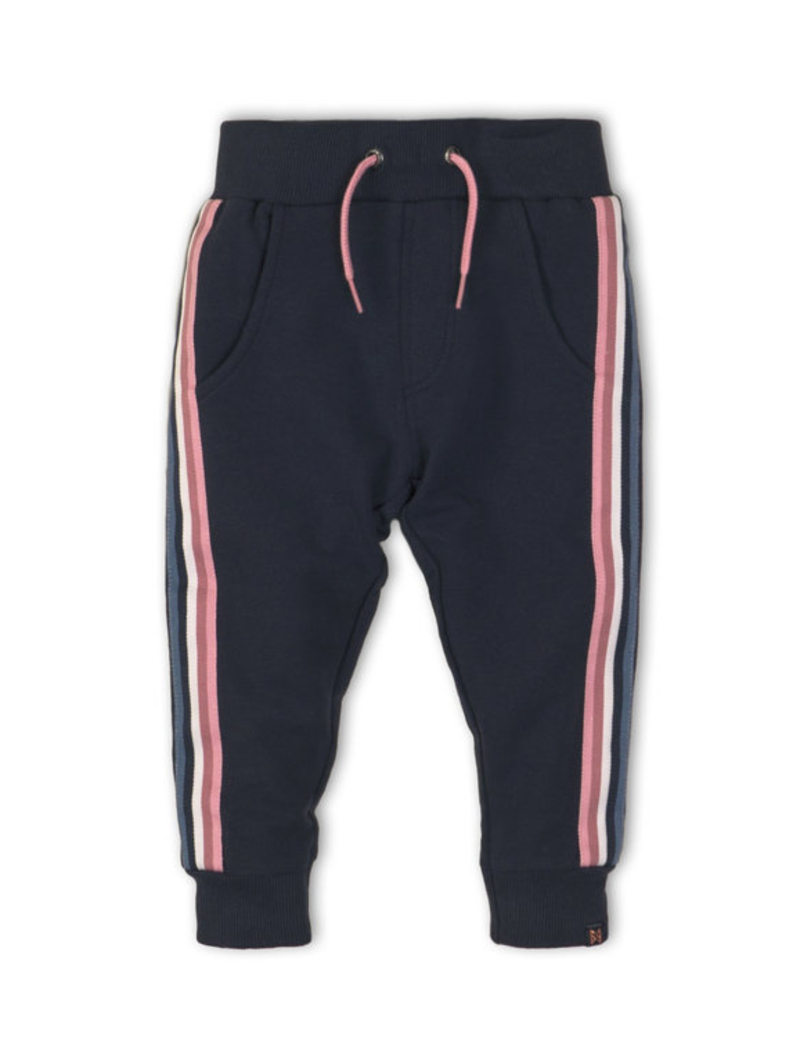 Koko Noko Navy w/Pink Stripe Pants