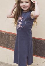 Koko Noko Navy Long Beach Dress