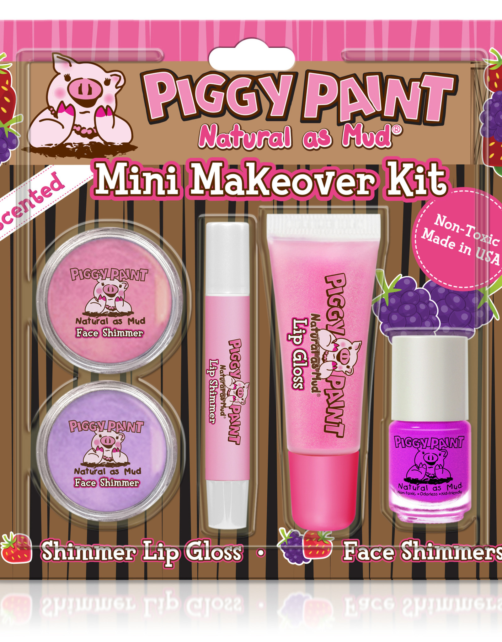 Piggy Paint Piggy Paint mini makeover kit - Grape