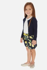 Mayoral Lemon Print Shorts