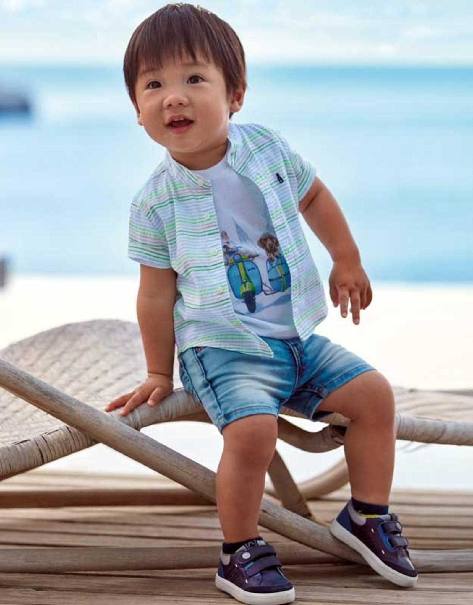 Mayoral Baby Boy Soft denim short