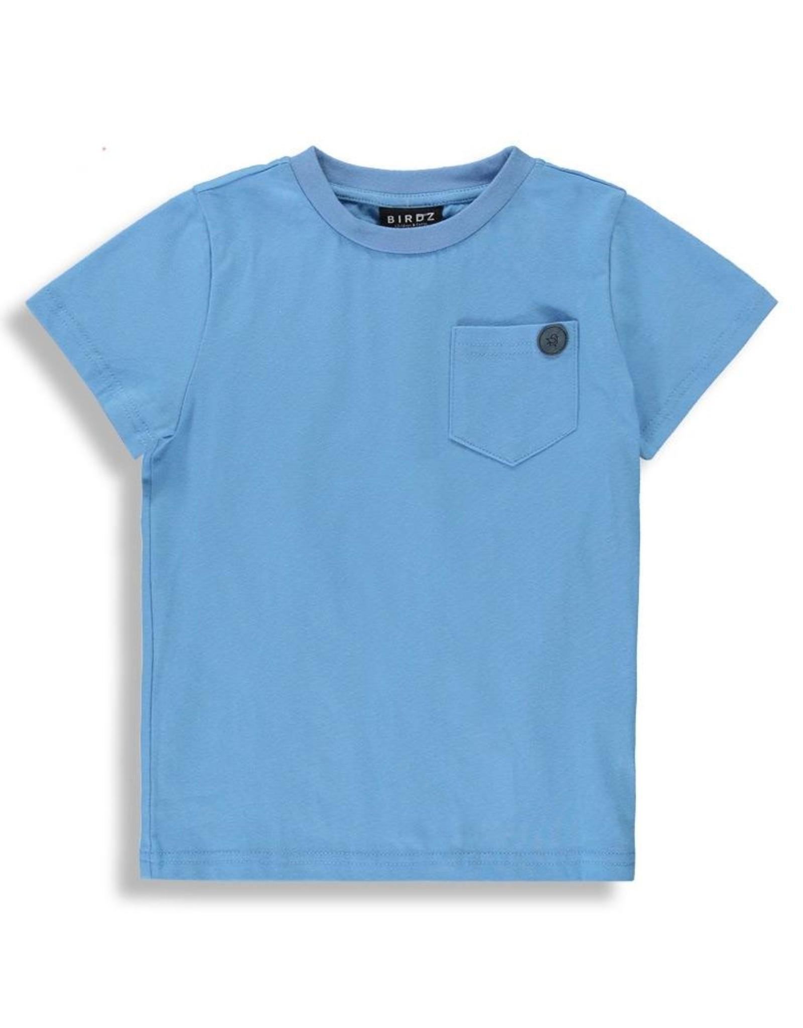 Birdz Basic T w/pocket - Blue or Black