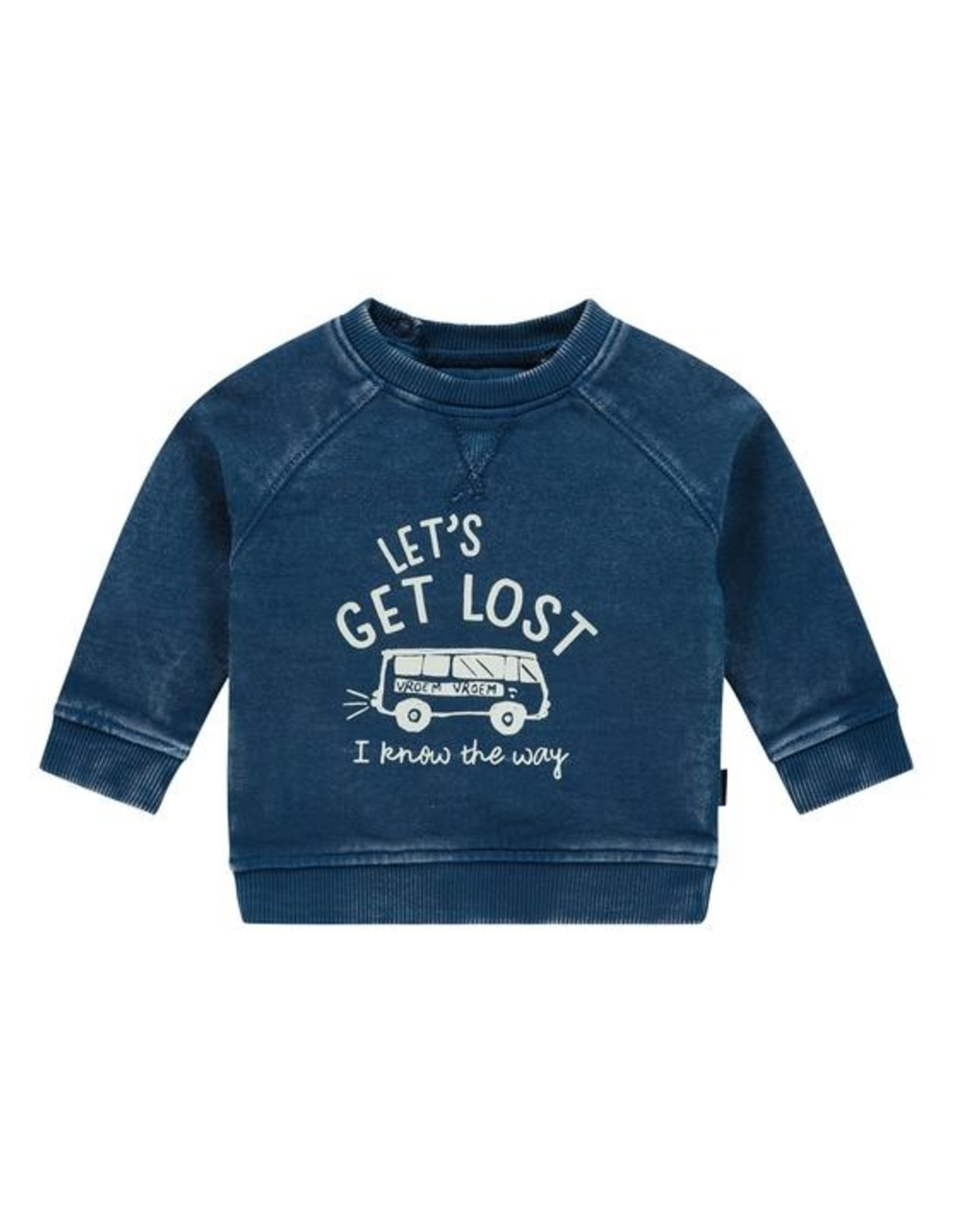 Noppies Noppies SS20 blue lets get lost sweater