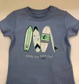 Mayoral Baby Surf board t-shirt - blue