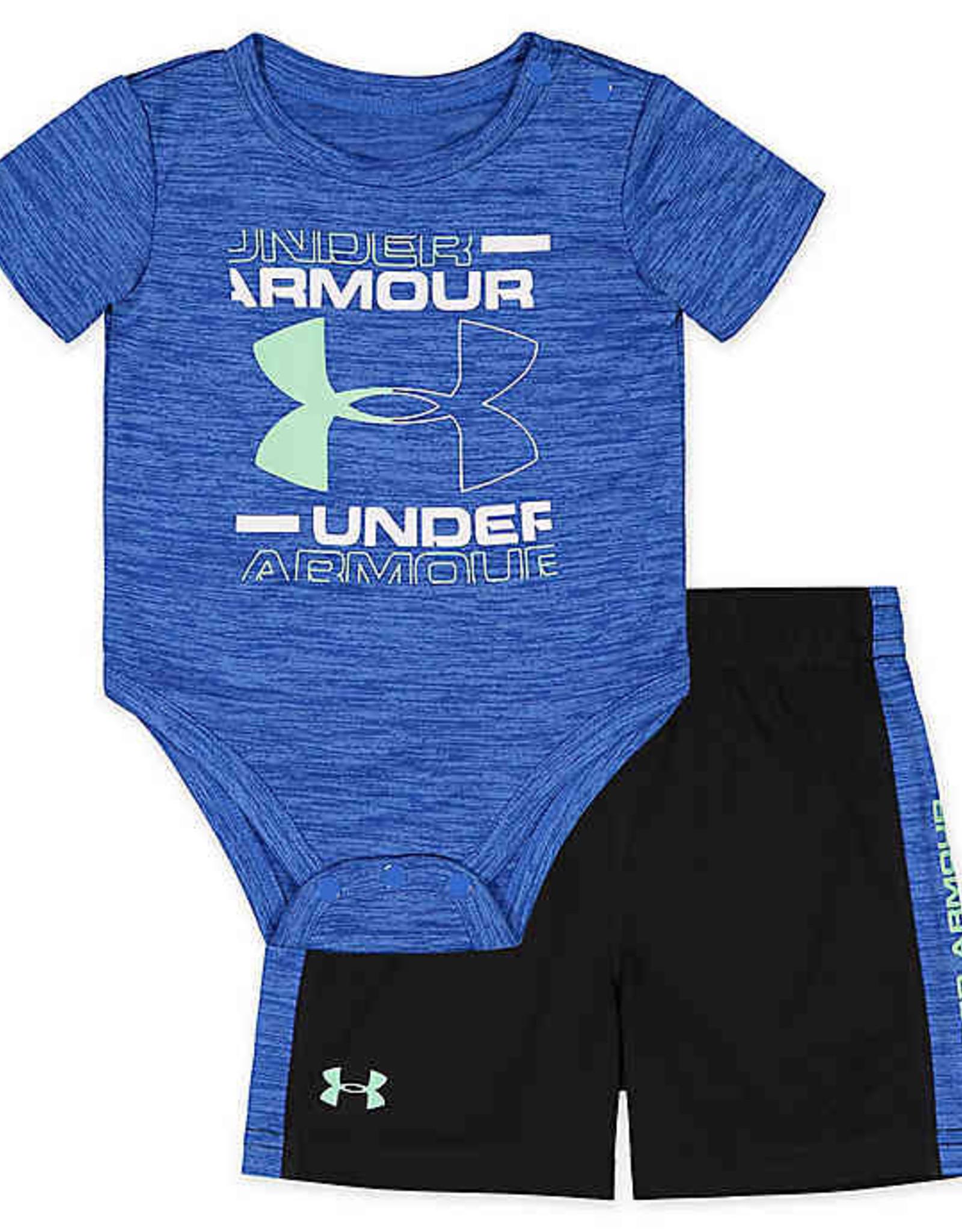 Under Armour 2Pc T-Shirt & Shorts Set Blue