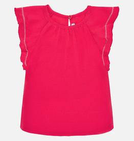 Mayoral Watermelon Short Sleeve Top