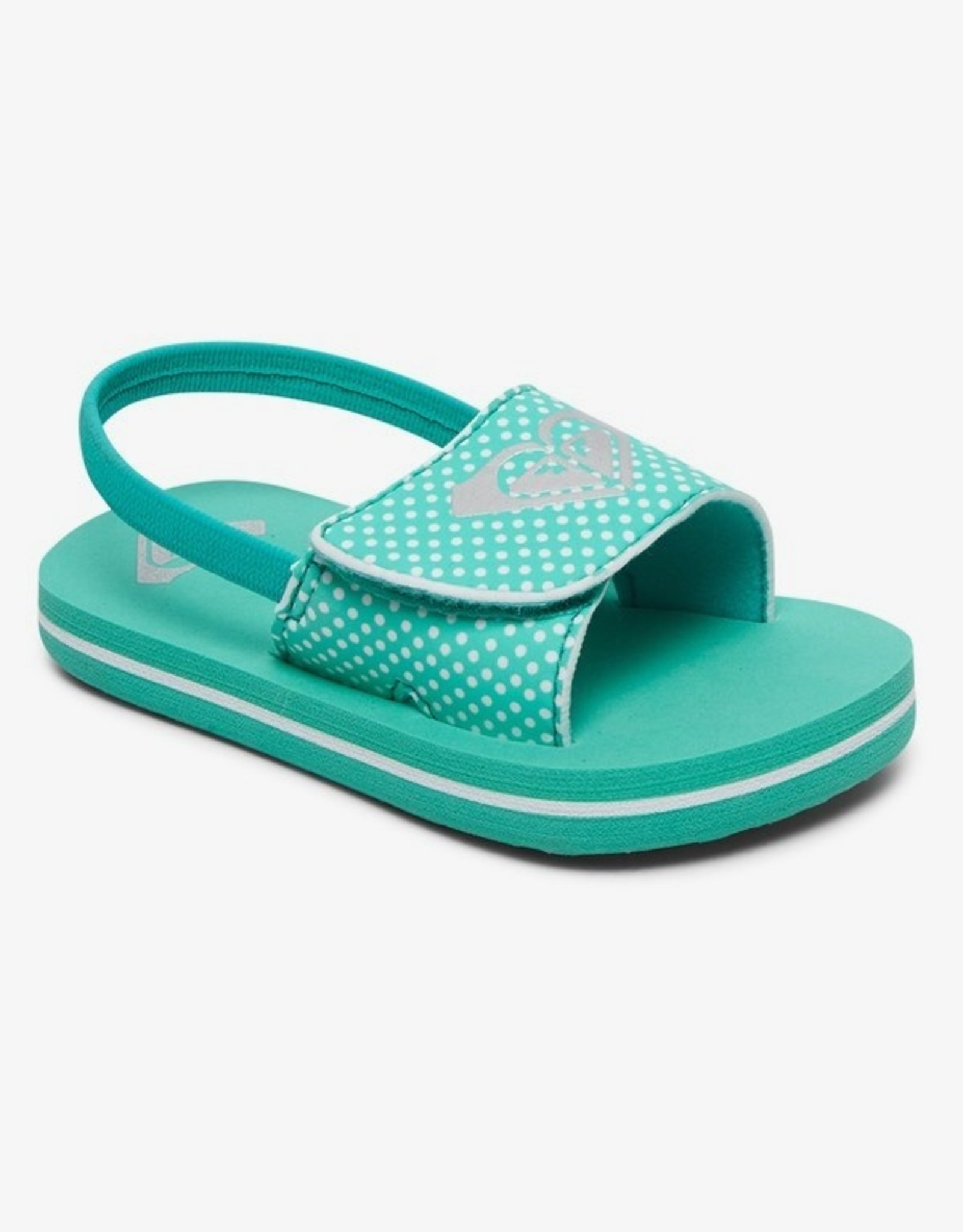 Roxy Finn Sandal - Lake Blue or Multi-Colour