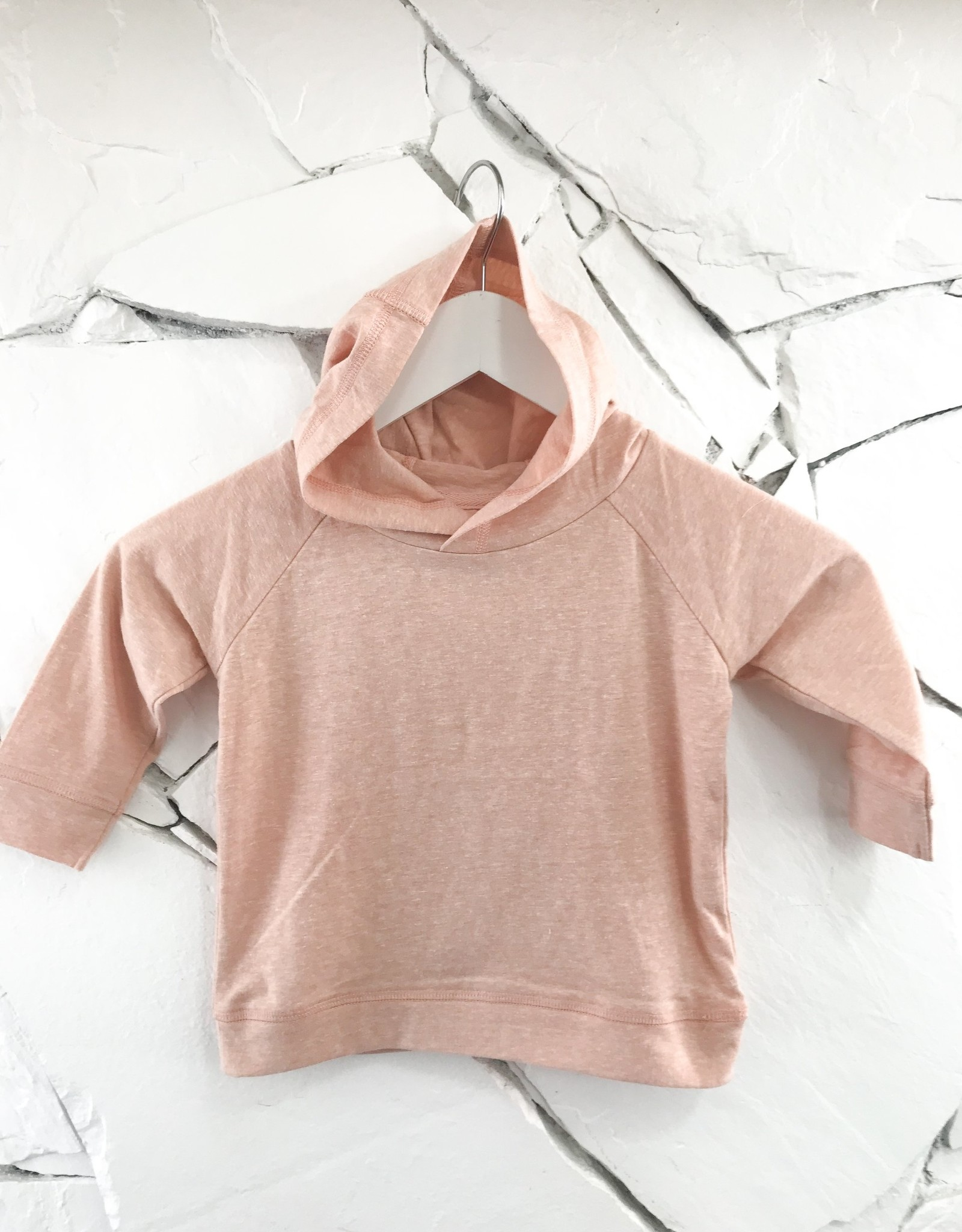 Little Rowe Sunny Hoodie - Grey, Peach, or CInnamon