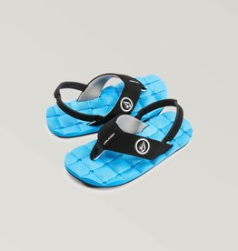Volcom Little Boy Recliner Sandal - Blue or Camo