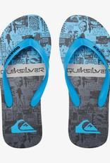 Quiksilver Molokai Flip Flop - Black or Blue