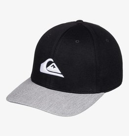 Quiksilver Pinpoint Fitted Ball Cap - Black/Silver