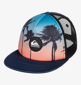 Quiksilver Psychic Patterns Trucker Hat - Majolica Blue