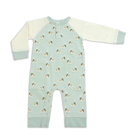 Silkberry Organic Cotton Long Sleeve Sleeper w/ Snaps