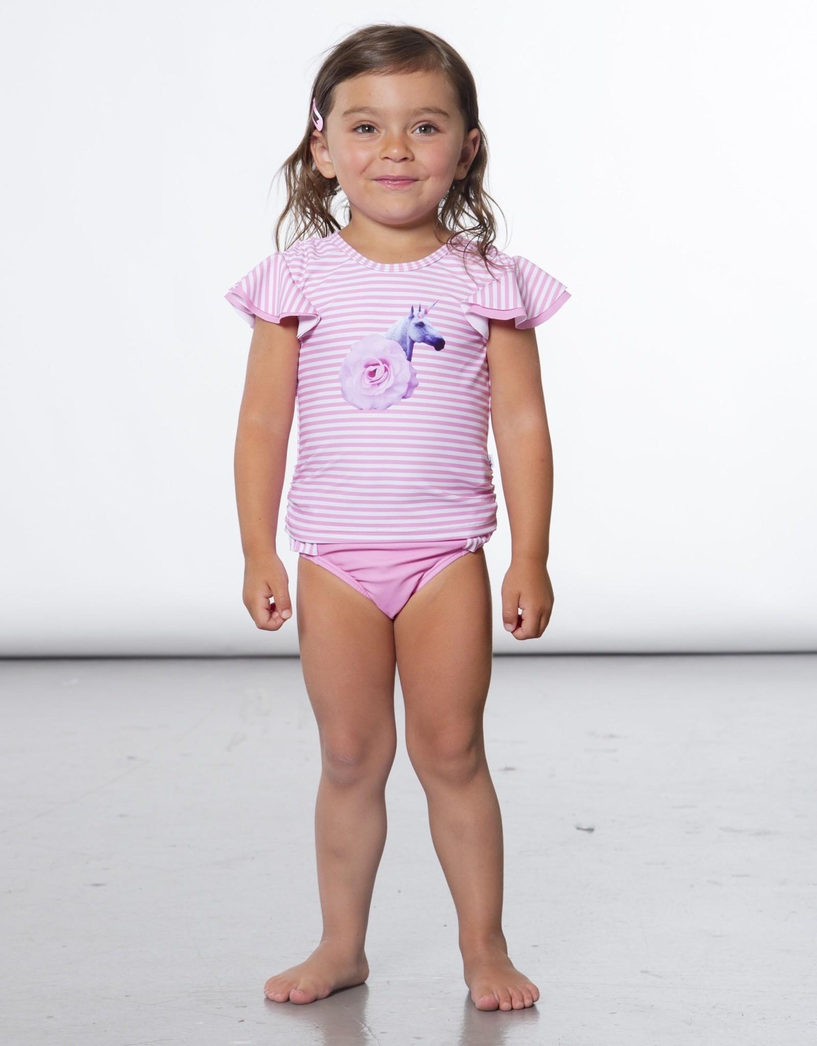 DeuxParDeux 2pc Unicorn Swimsuit