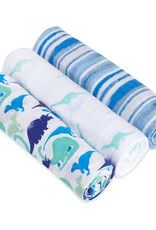 Aden + Anais 3 Pack Swaddle Set