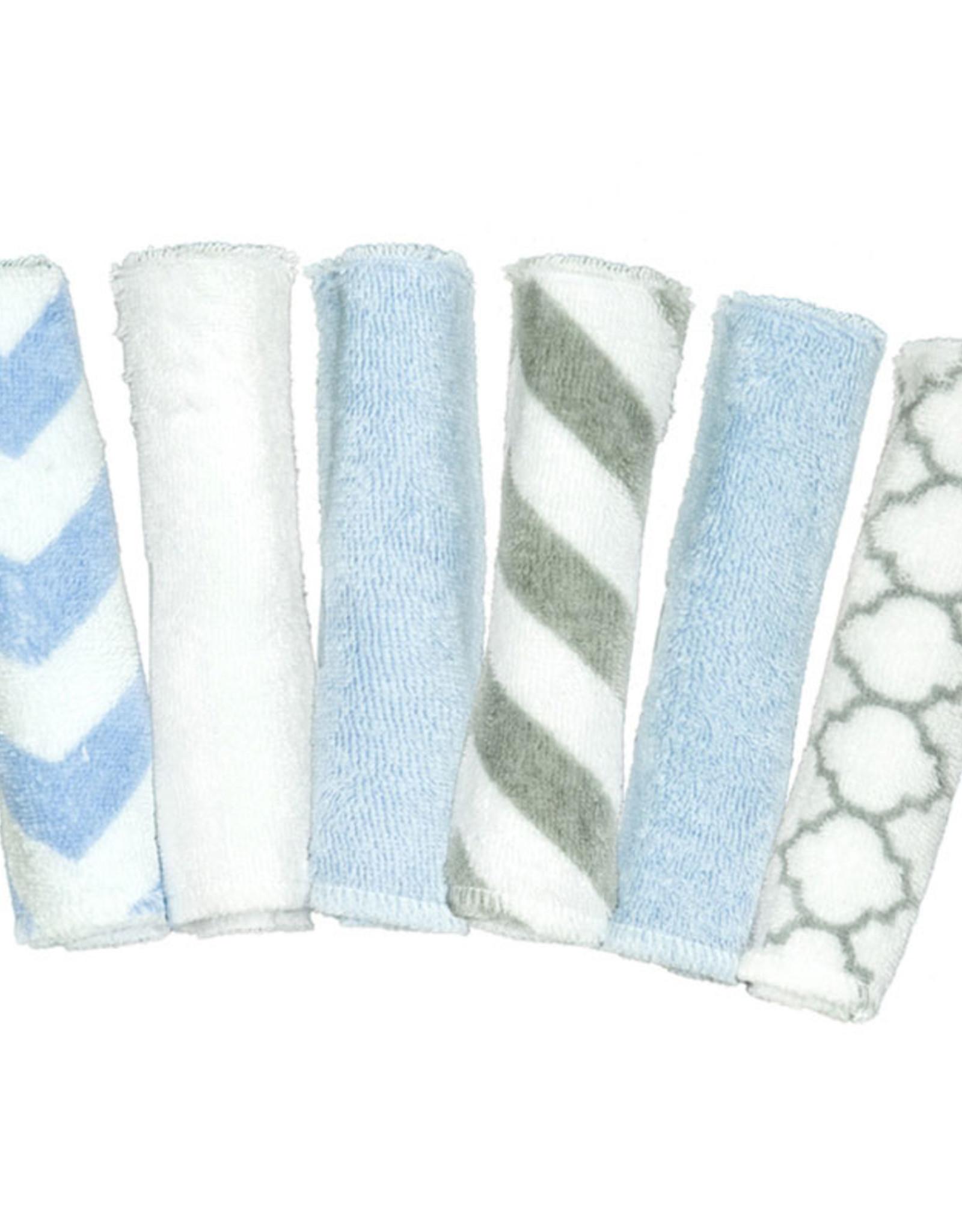 Kushies 6 Pack Wash Cloths