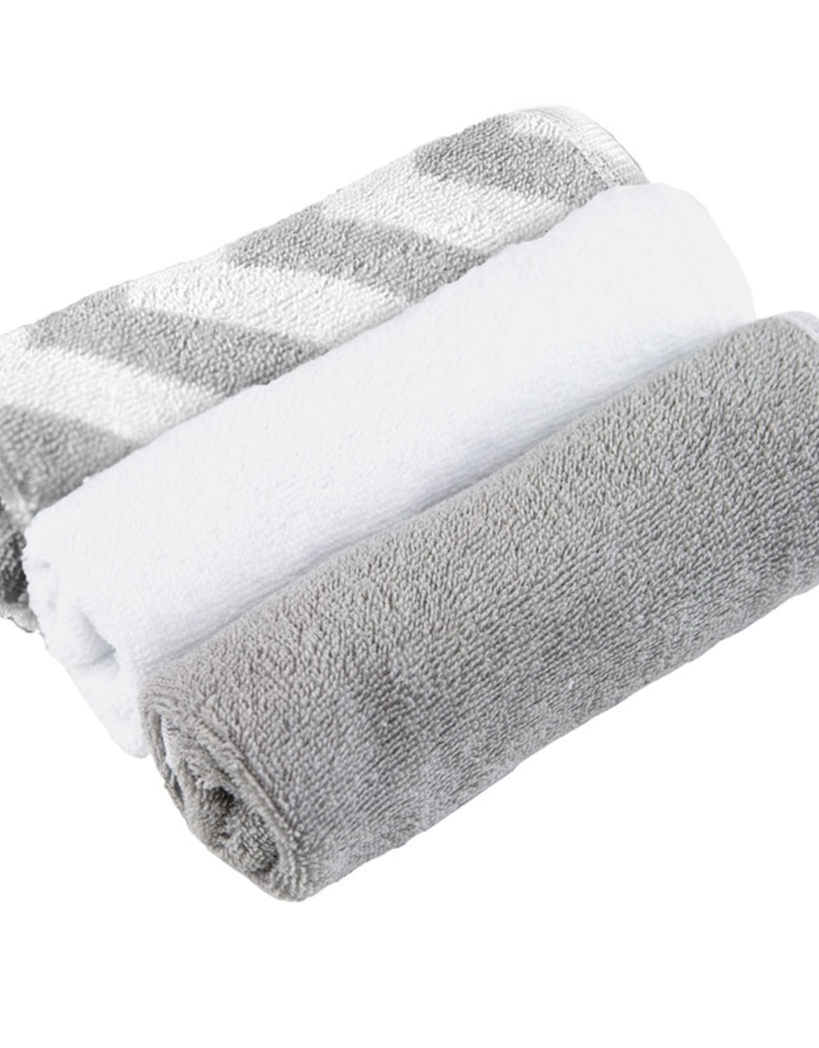 Kushies 3 Pack Wash Cloths