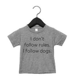 Portage & Main I Don't Follow Rules I  Follow Dogs Tee