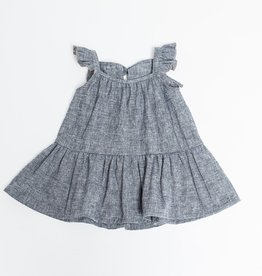 Greige Chambray Sun Dress