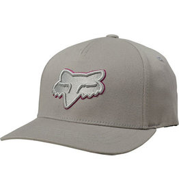 FOX Epicycle 110 Hat - Grey/Pink 6+