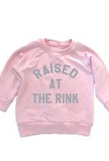 Portage & Main  Raised at Rink Raglan Sweatshirt - Pink