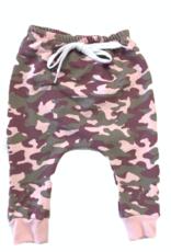 Portage & Main Pink Camo Jogger