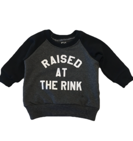 Portage & Main Raised at Rink Raglan Sweatshirt - Grey