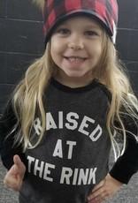 Portage & Main Raised at Rink Raglan Sweatshirt - Grey
