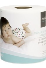 Kushies Flushable & Biodegradable Diaper Liners