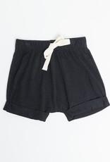 Greige Harem Shorts - Black