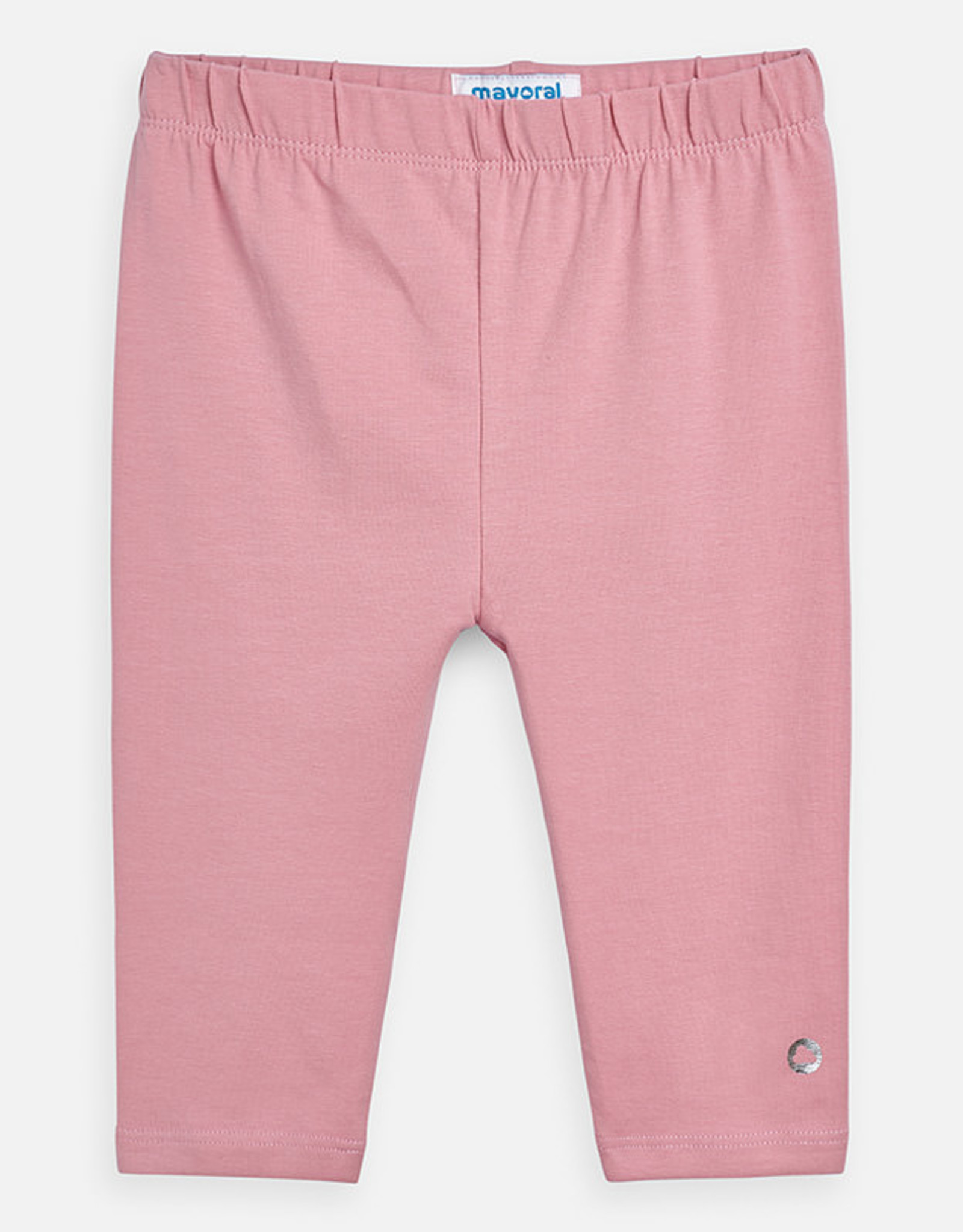 Mayoral Basic Cropped Leggings - Pink