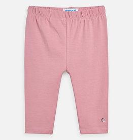 Mayoral Basic Cropped Leggings - Pink
